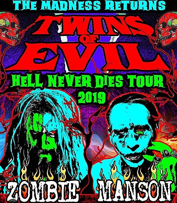 tours announced: Rob Zombie/Marilyn Manson, Morrissey, Violent Femmes/X, more - Brooklyn Vegan