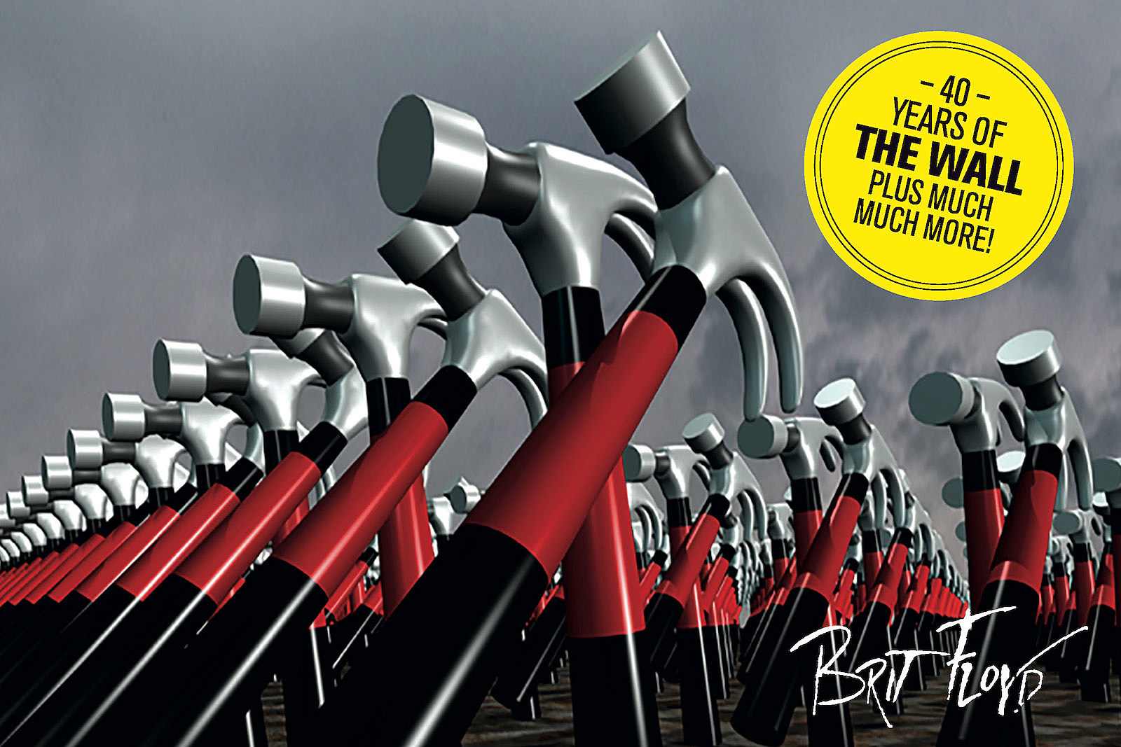 Brit Floyd touring '40 Years of The Wall' ++ more Pink Floyd