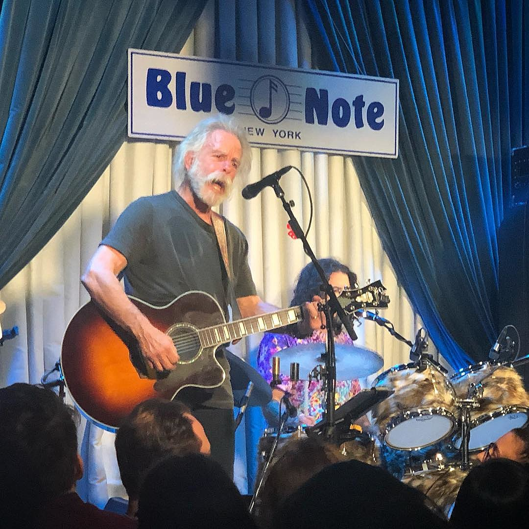 Bob Weir at the Blue Note (photo via @meboudin)