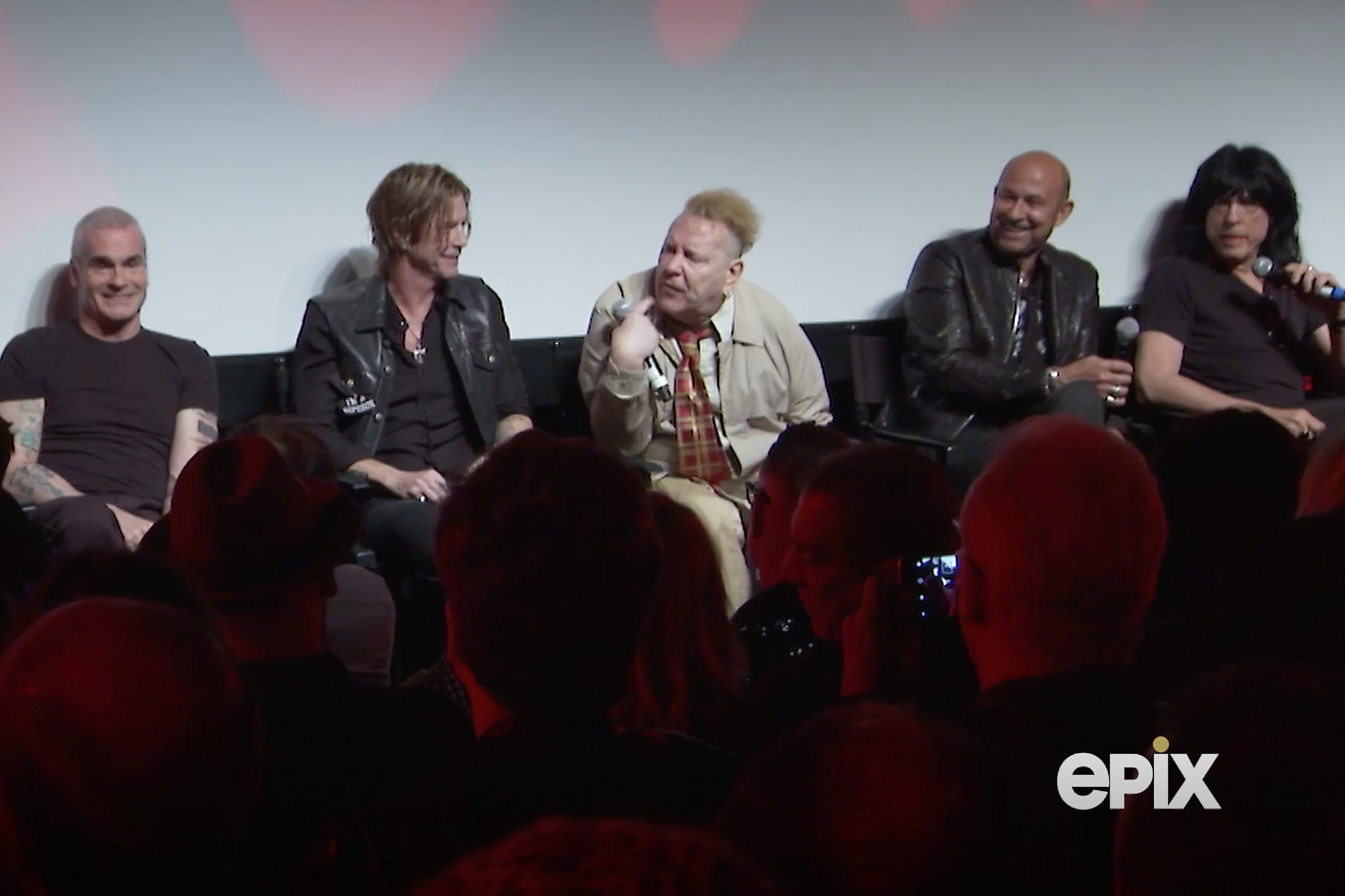 'Punk' panel with Johnny Rotten, Henry Rollins, Marky Ramone and more
