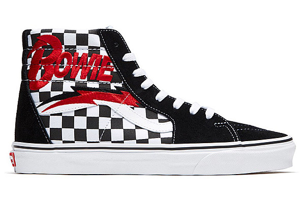 Vans launches David Bowie sneaker collection