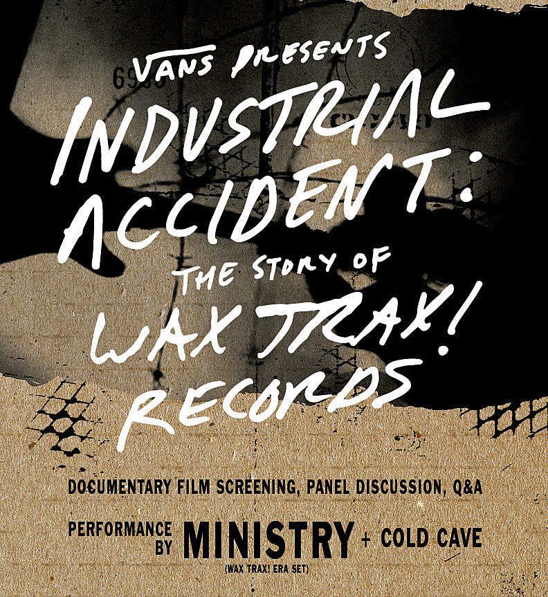 wax-trax industrial accident tour ministry cold cave