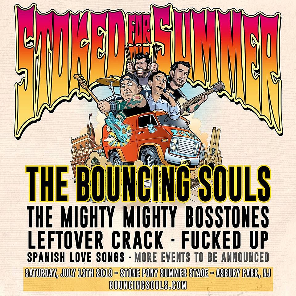 Bouncing Souls Stoked for the Summer