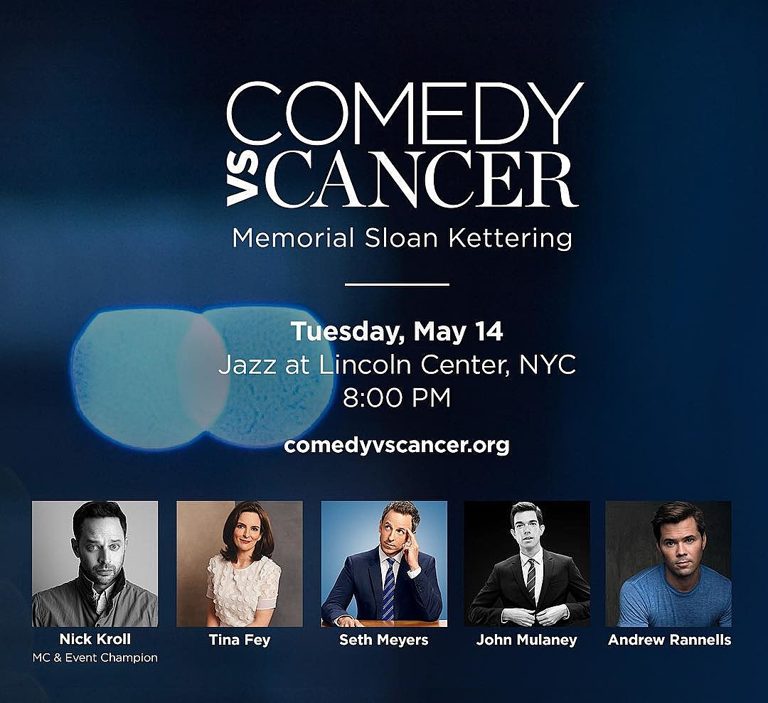 """""""Comedy vs. Cancer"""" NYC benefit"""