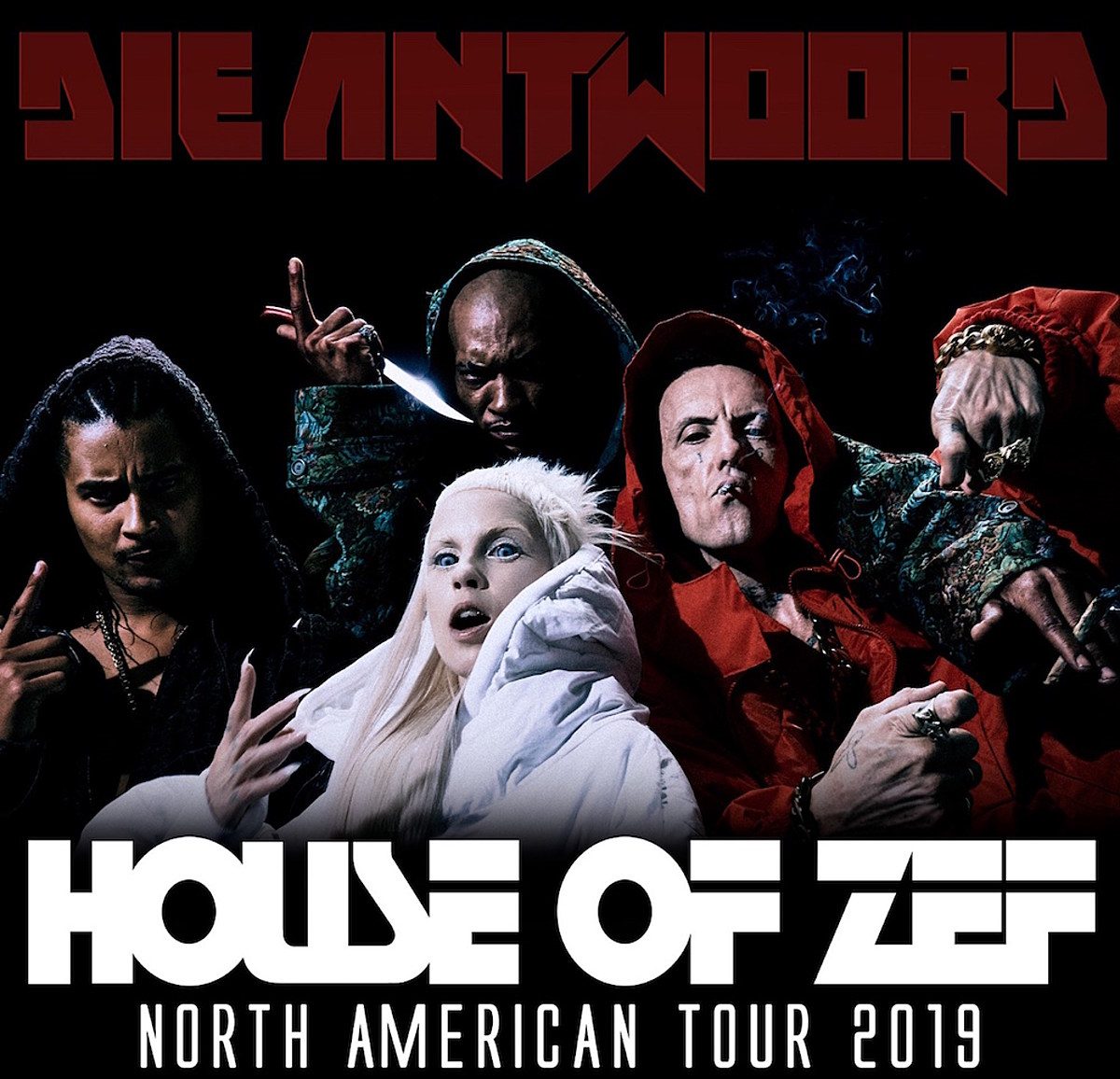 die antwoord announce 2019 north american tour. Black Bedroom Furniture Sets. Home Design Ideas