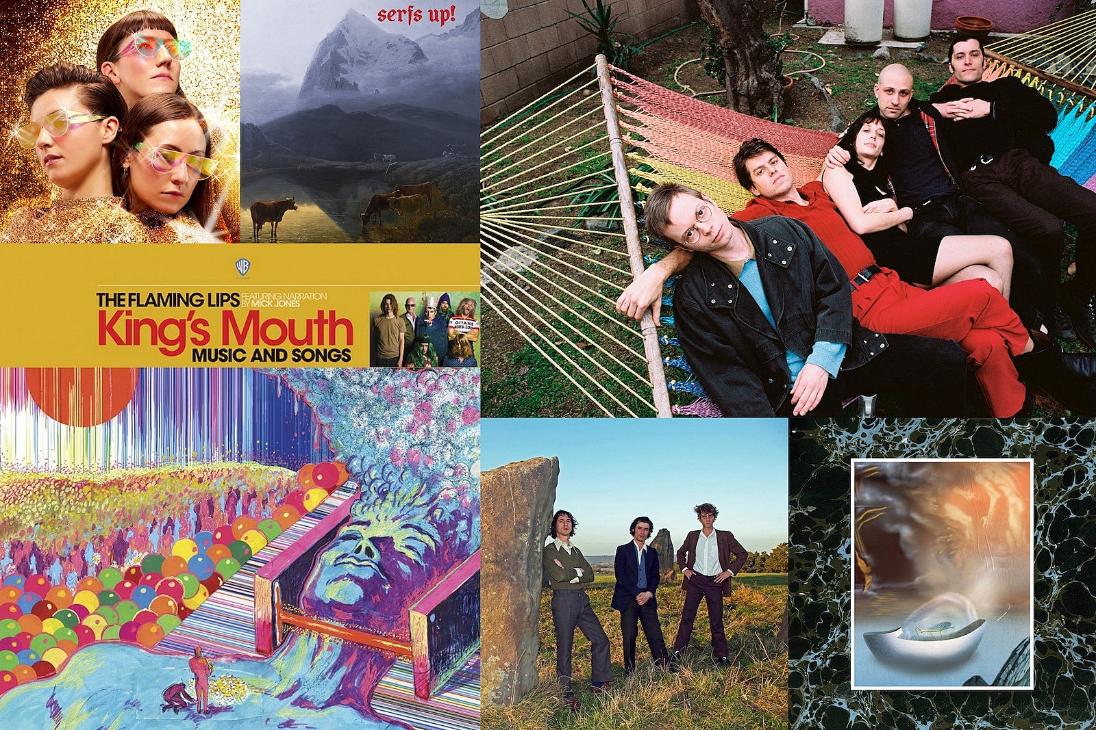 flaming lips, wand, stealing sheep, fat white family