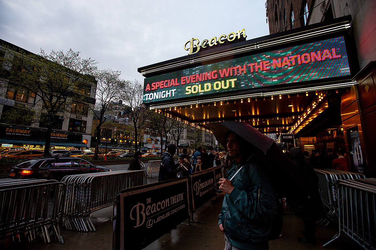 'The National: Live from Beacon Theatre' film coming to Prime Video this week