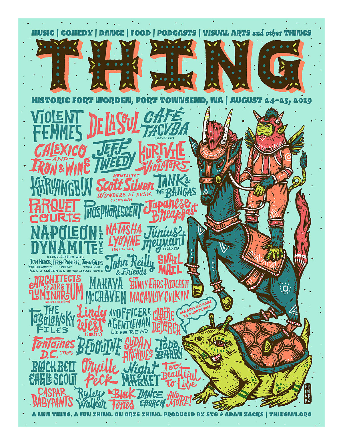 Sasquatch founder starts new fest, THING (inaugural lineup announced)