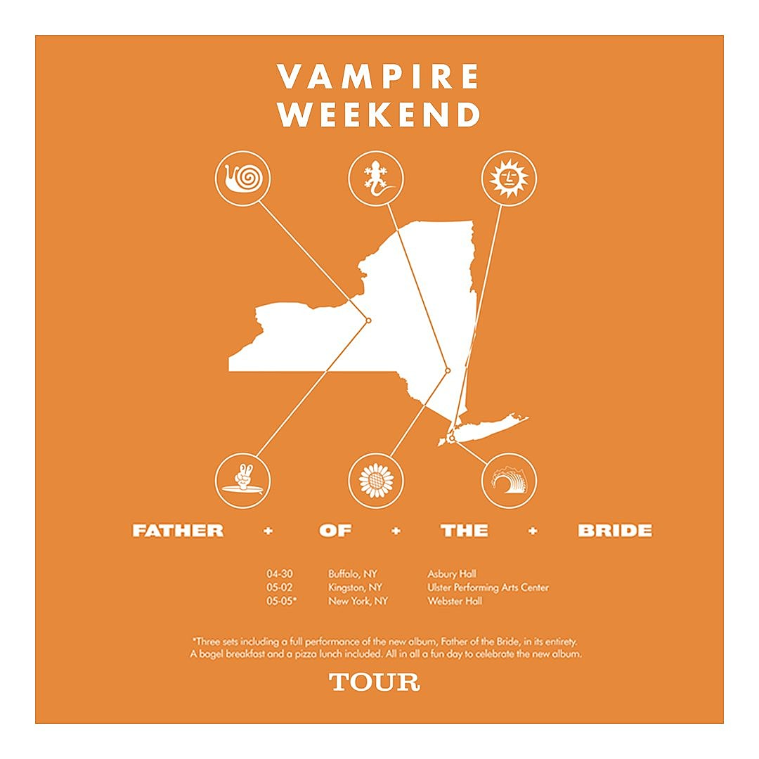 Vampire Weekend Celebrate New Lp With Ny State Tour Nyc W Bagels