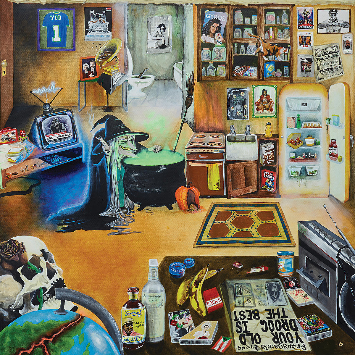 stream Your Old Droog's surprise LP 'It Wasn't Even Close' (ft. Wiki, Lil Ugly Mane, DOOM, more)