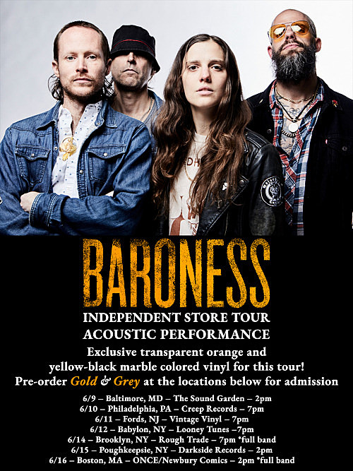 Baroness in-stores