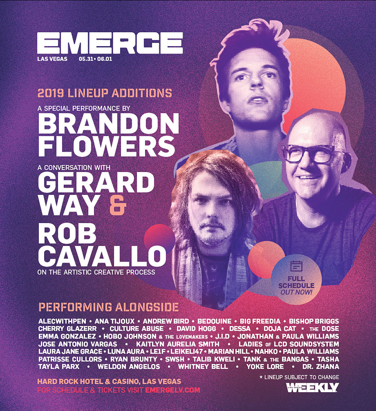 Win tickets a hotel stay to Emerge 2019 in Las Vegas