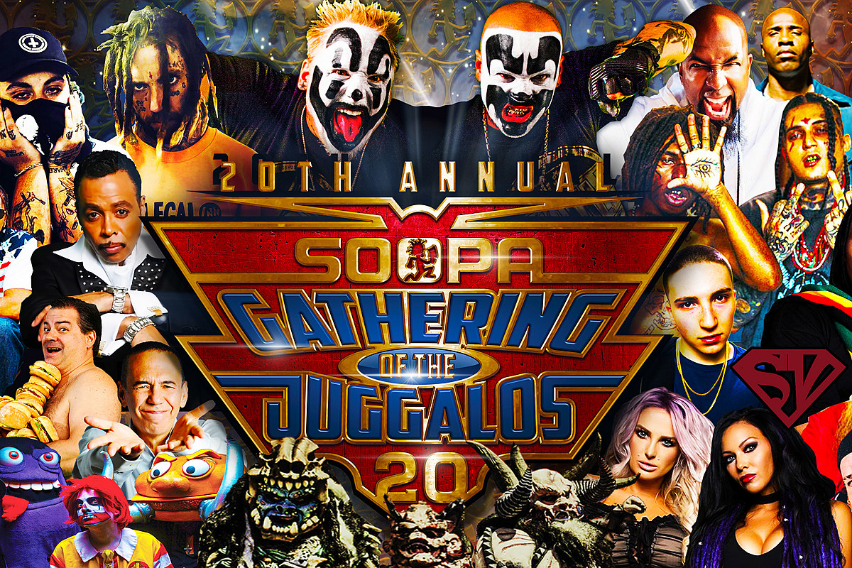 Gathering of the Juggalos expands 2019 lineup (Geto Boys, GWAR, more)