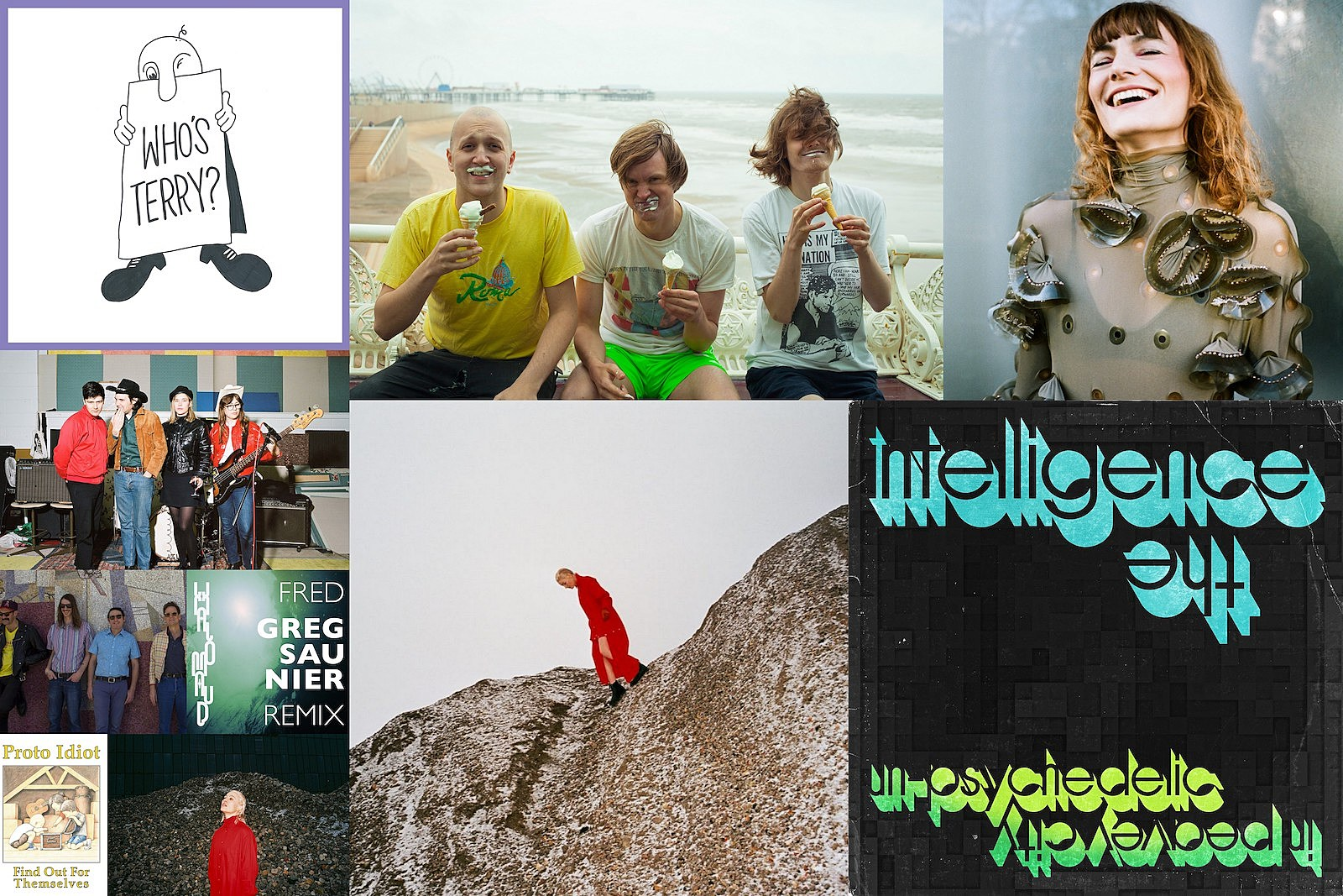 indie basement - cate le bon,  the intelligence, halo maud, proto idiot, terry