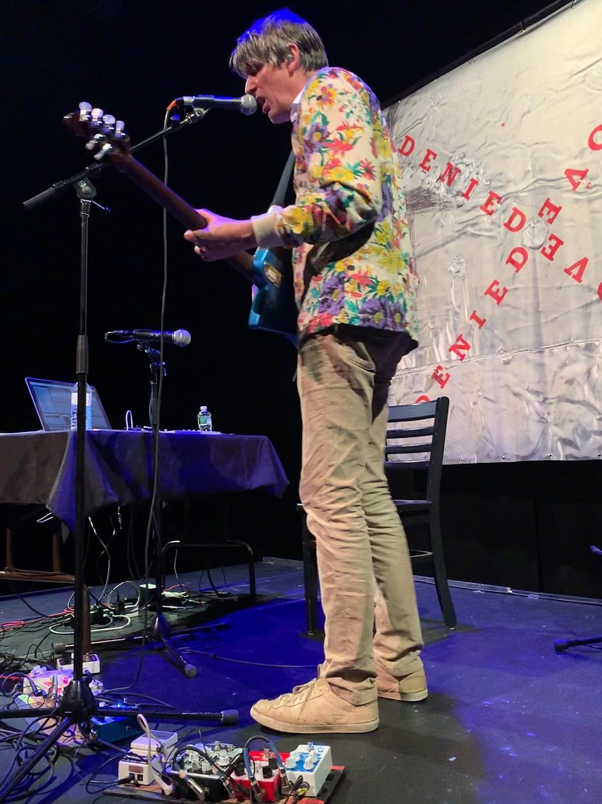 Stephen Malkmus played solo at The Kitchen (review, setlist)