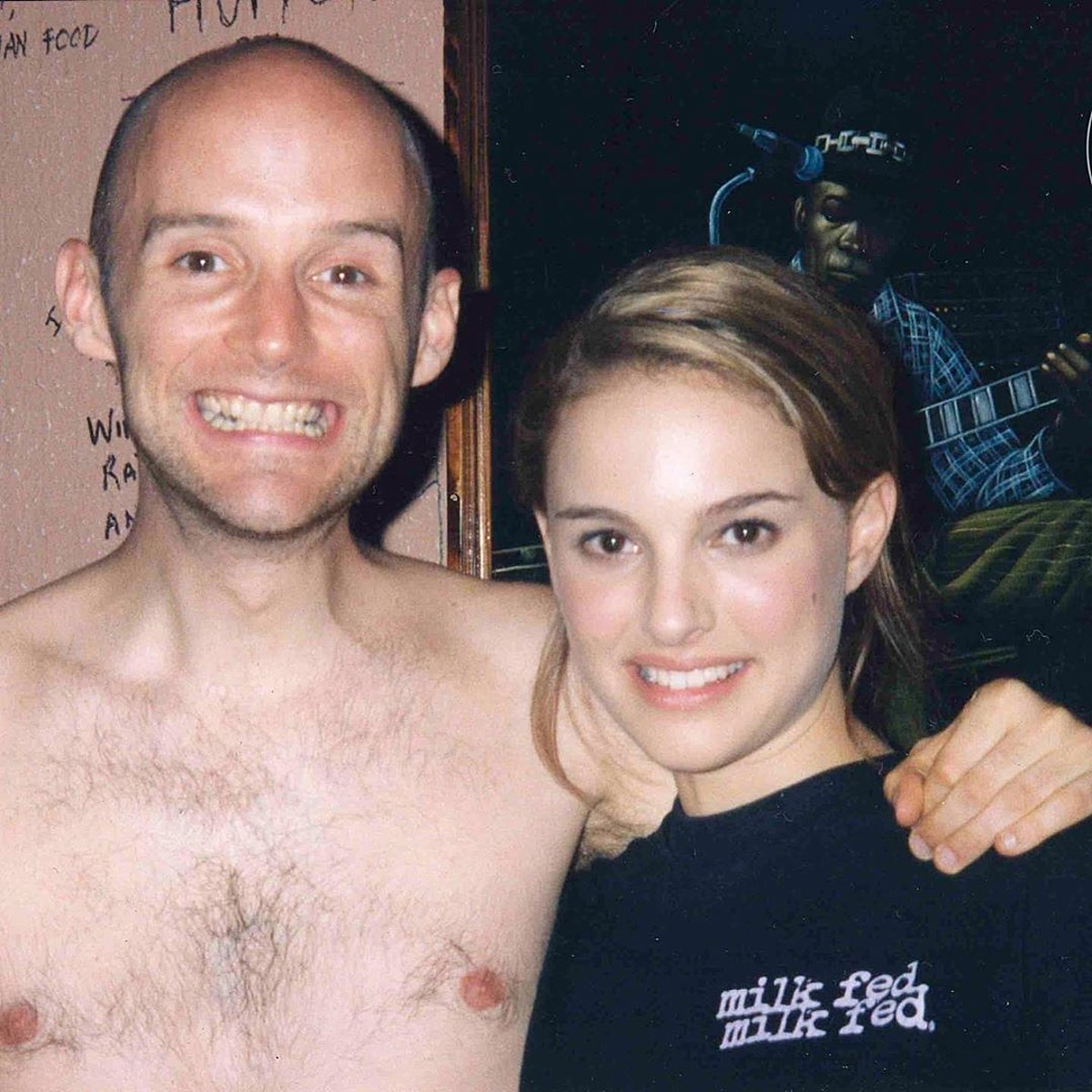 """Moby insists he dated Natalie Portman; she remembers a """"much older man being creepy"""""""