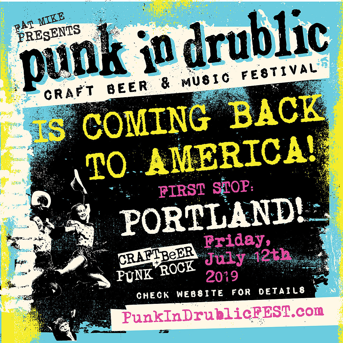 Fat Mike announces first U.S. Punk In Drublic of 2019 with NOFX, Bad Religion more