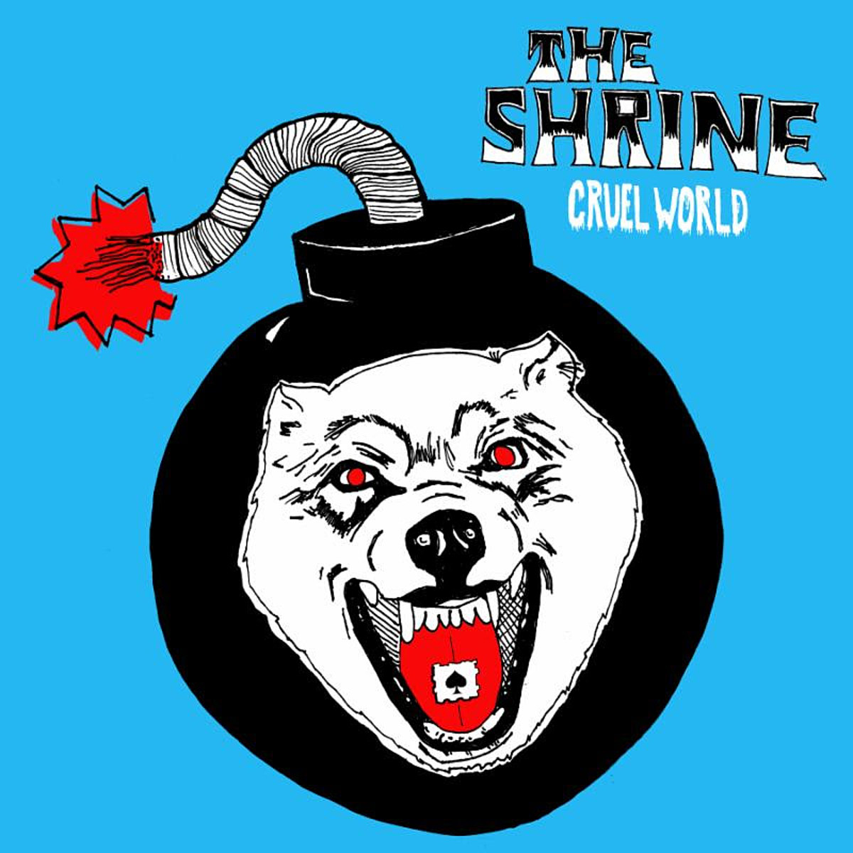 stream The Shrine's 'Cruel World' EP