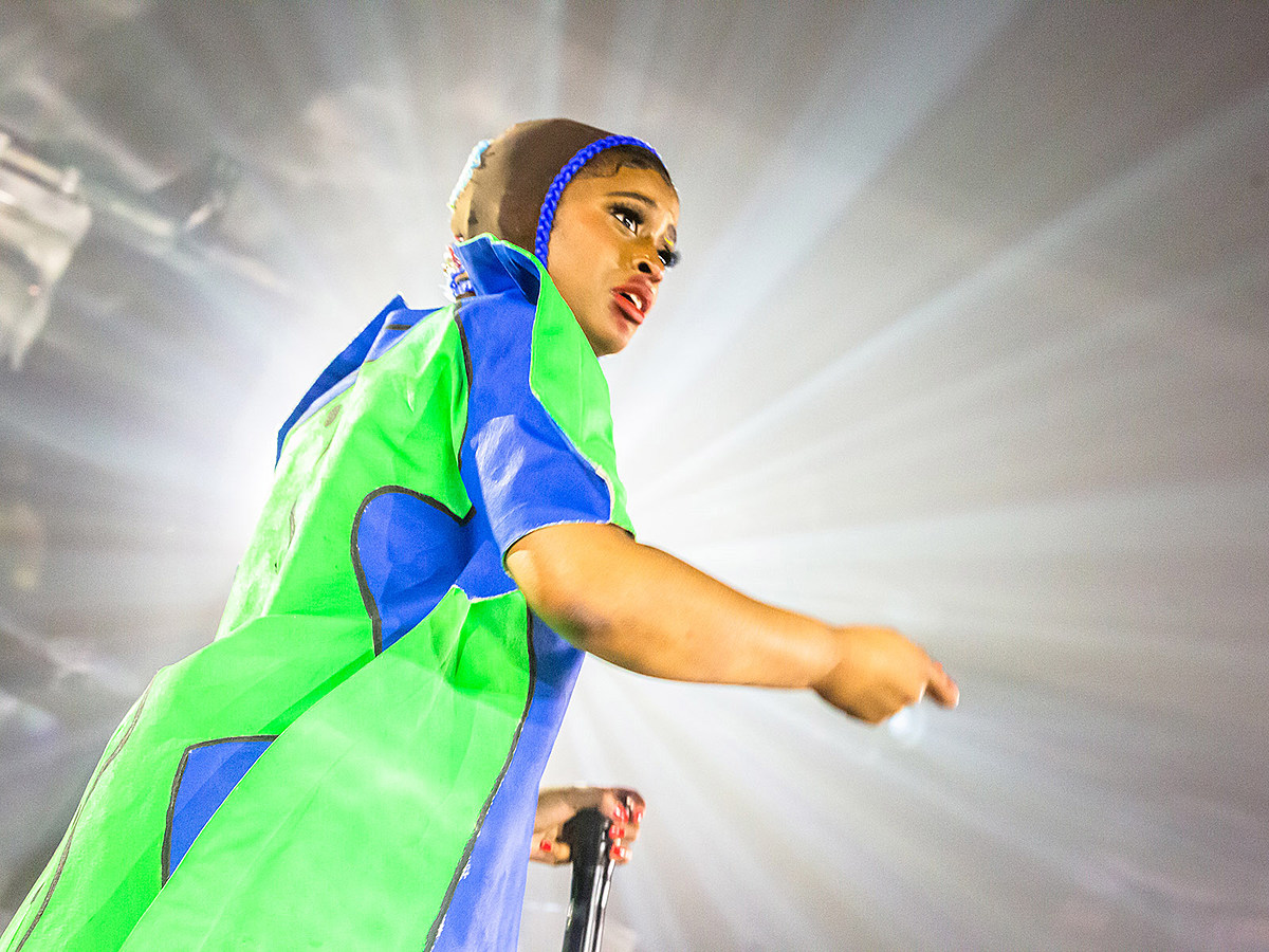 Tierra Whack brought her eccentric live show to the Rainbow Room (pics, video)