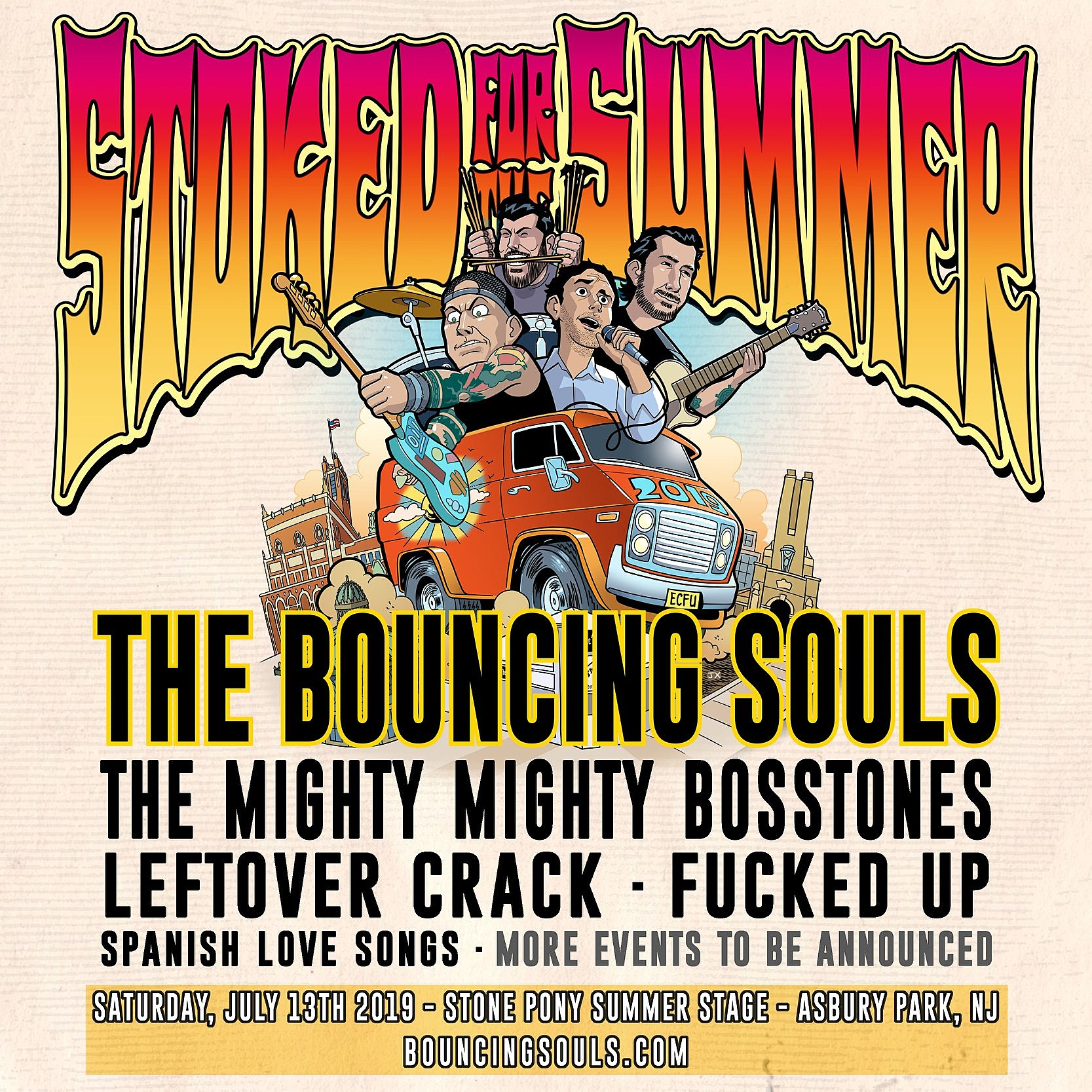 Bouncing Souls - Stoked for the Summer 2019
