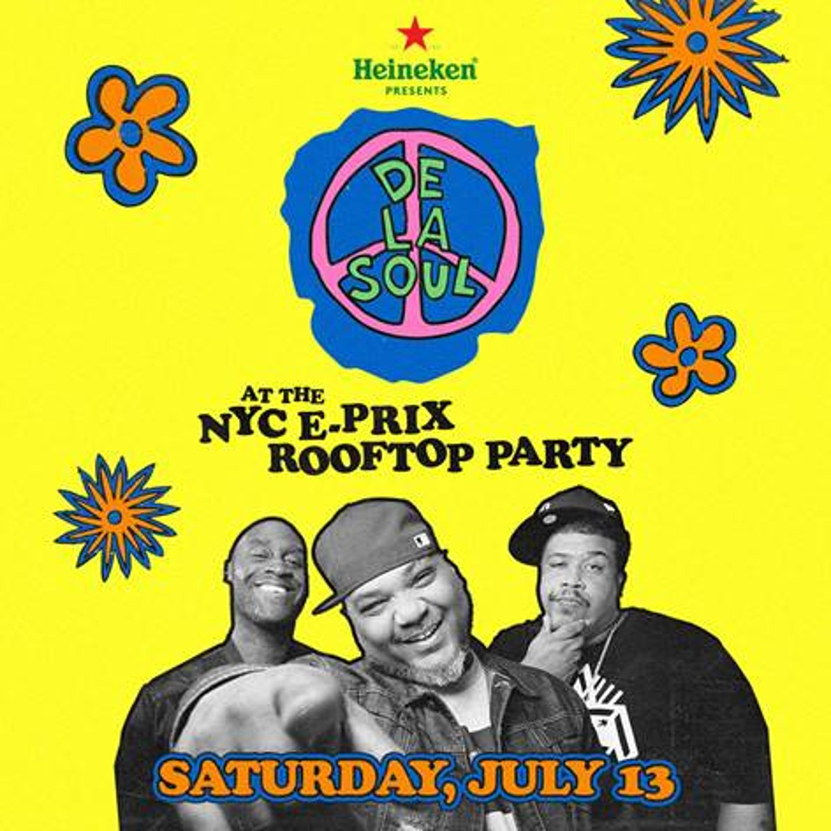 De La Soul touring, playing Taste of Chicago NYC's Rooftop at Pier 17