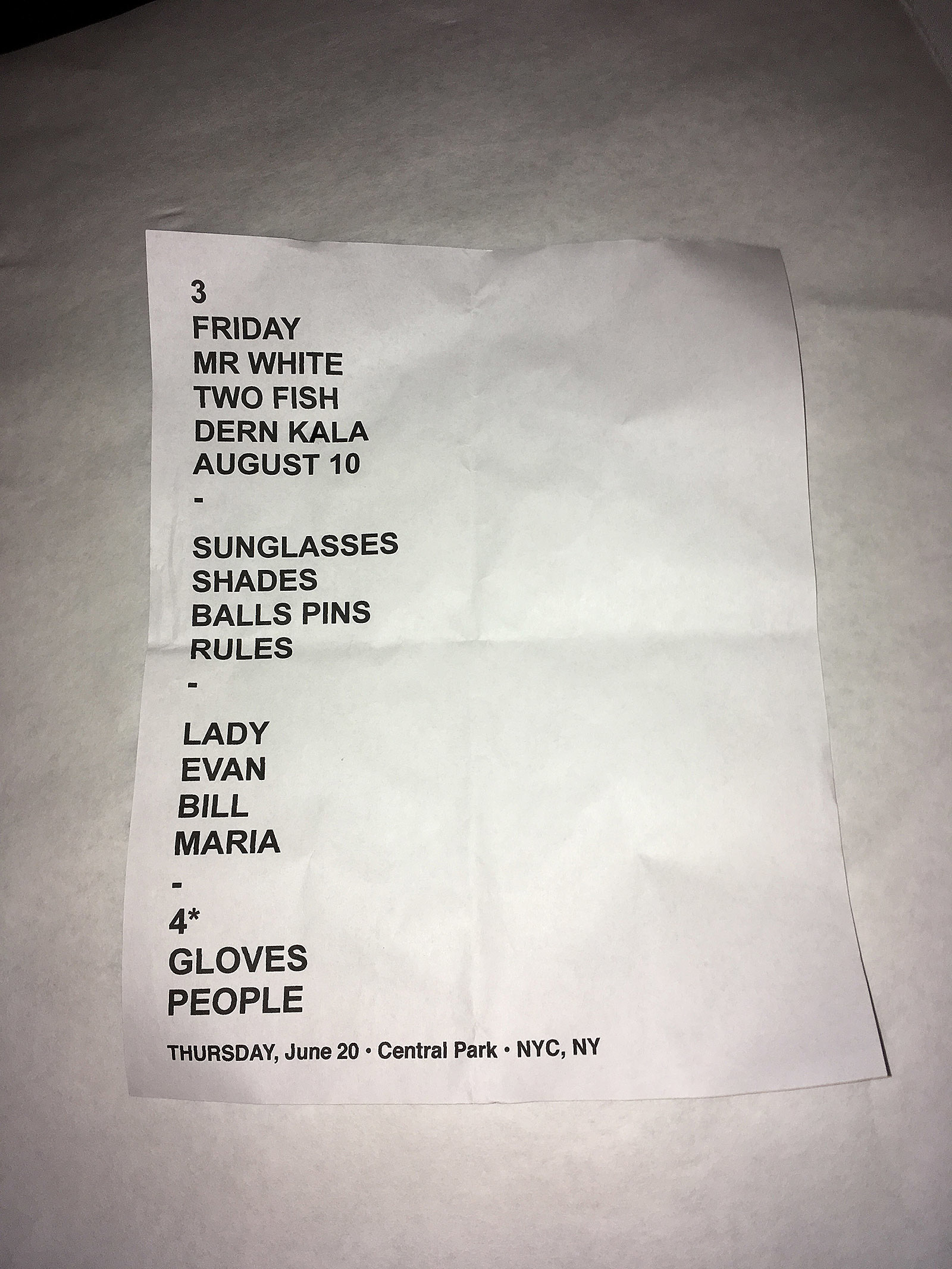 Khruangbin at SummerStage at Central Park setlist