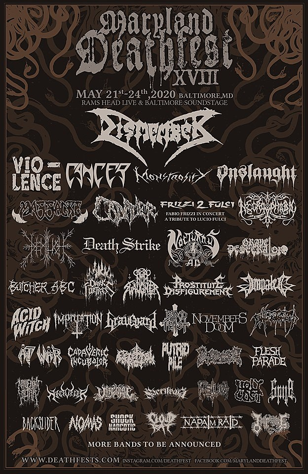 Maryland Deathfest 2020