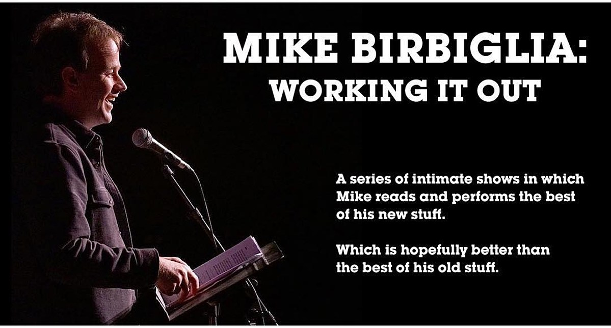 Mike Birbiglia working out new material at NYC theater run this summer