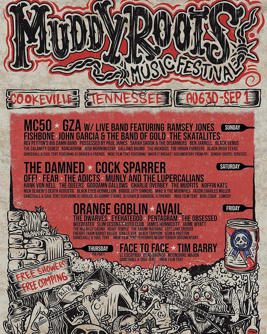 Muddy Roots Festival 2019