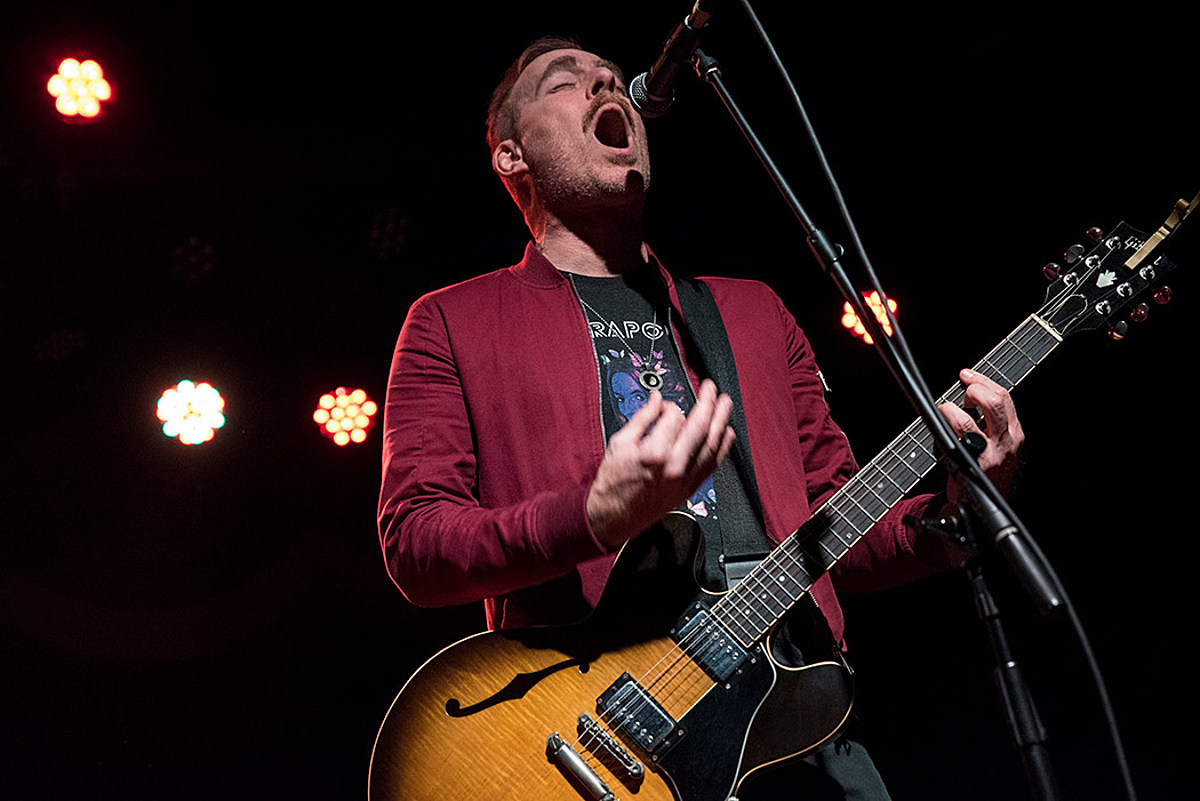 Ted Leo and the Pharmacists touring with Control Top this summer
