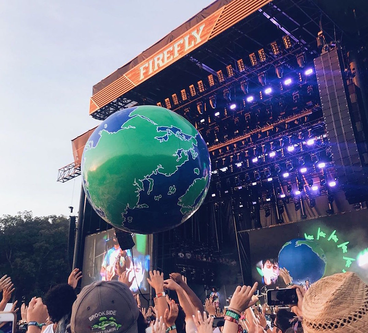 Vampire Weekend played Firefly, added Merriweather Post Pavilion, covered The Doors in NC