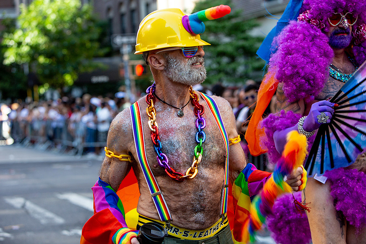 a Gay and Lesbian Pride March was
