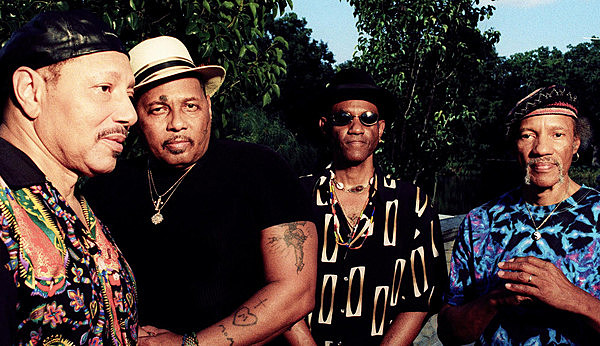 Art with The Neville Brothers