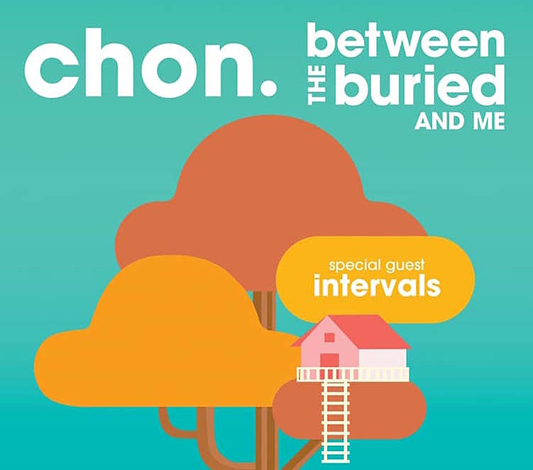 CHON Between the Buried and Me