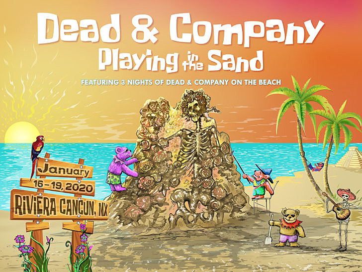 Dead & Co Playing in the Sand 2020