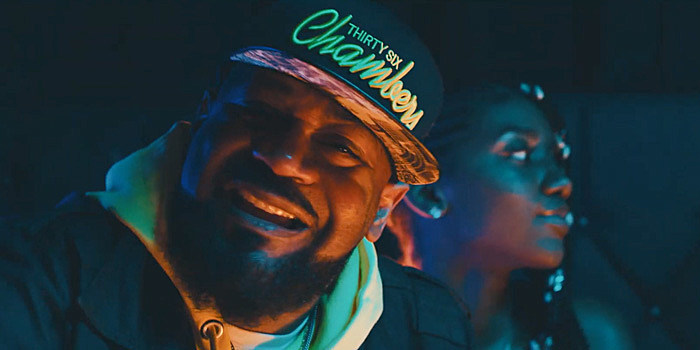 """Ghostface in """"Party Over Here"""" video"""