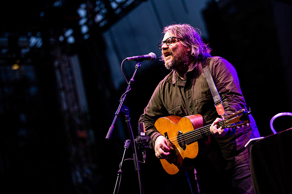 Jeff Tweedy played Lincoln Center Out of Doors w/ Helen Gillet (pics)