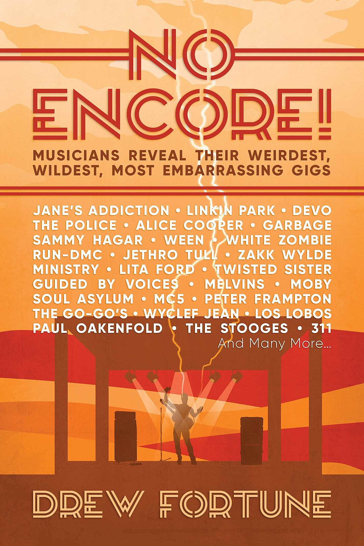 Ween, GBV, Melvins, Devo, MC5 more talk worst, weirdest gigs in new book 'No Encore!'