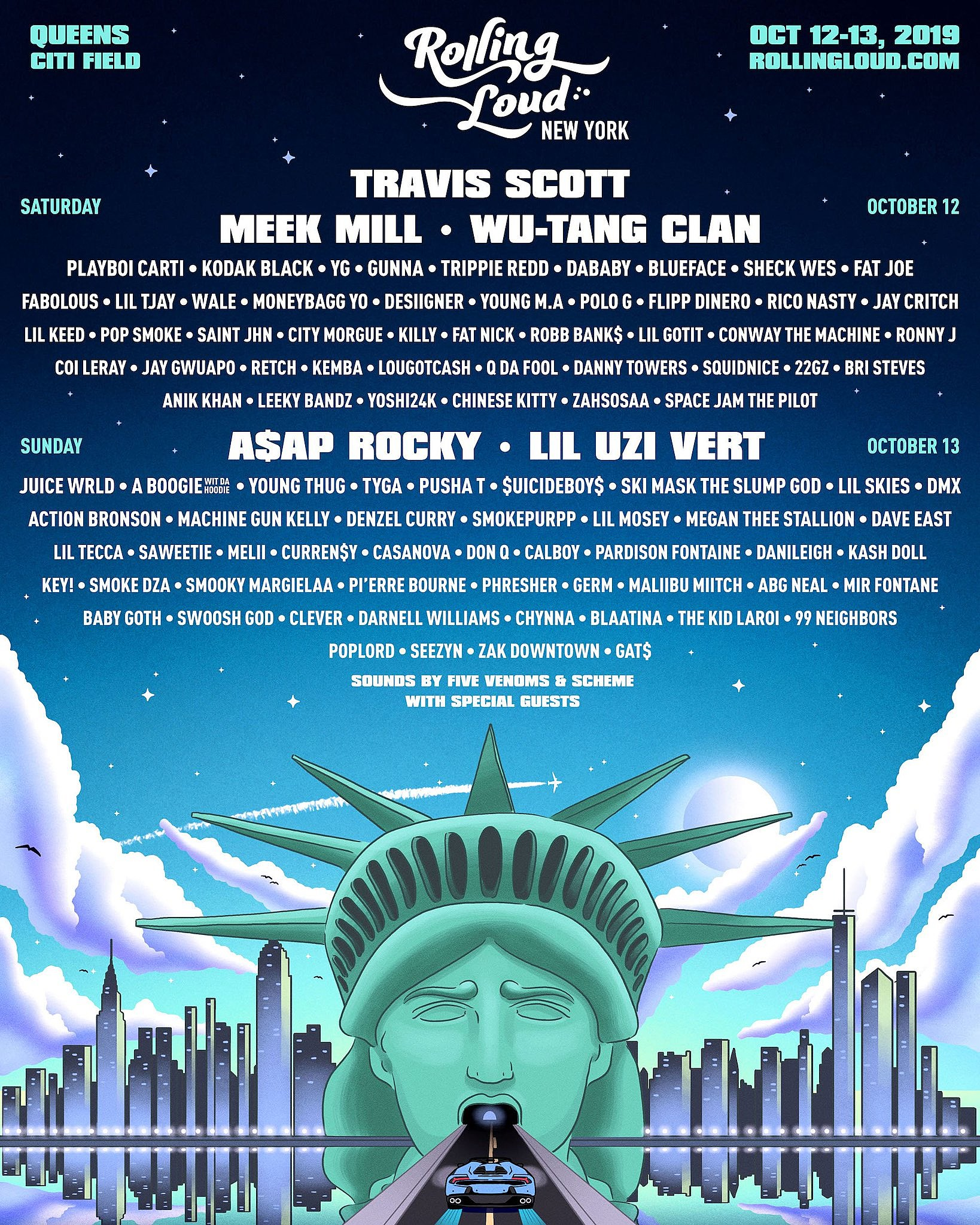 Rolling Loud NYC Lineup