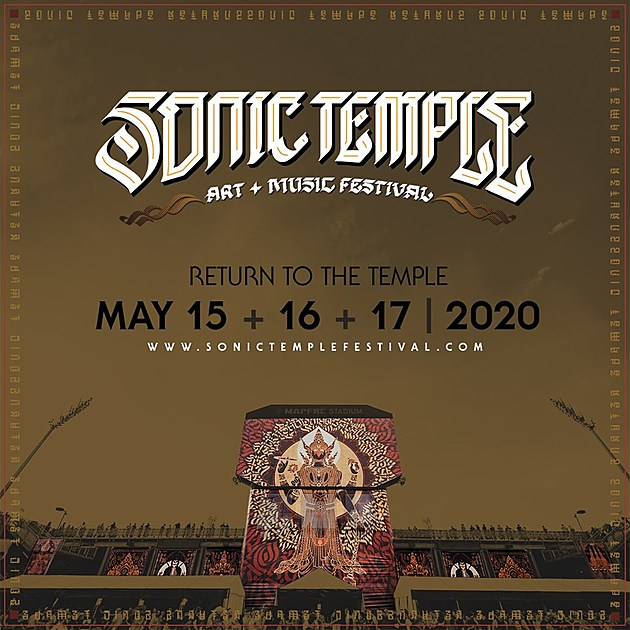 Sonic Temple, Epicenter & Welcome To Rockville reveal 2020 dates