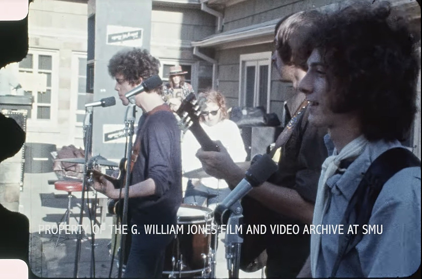 Velvet Underground playing Dallas Peace Day, 1969