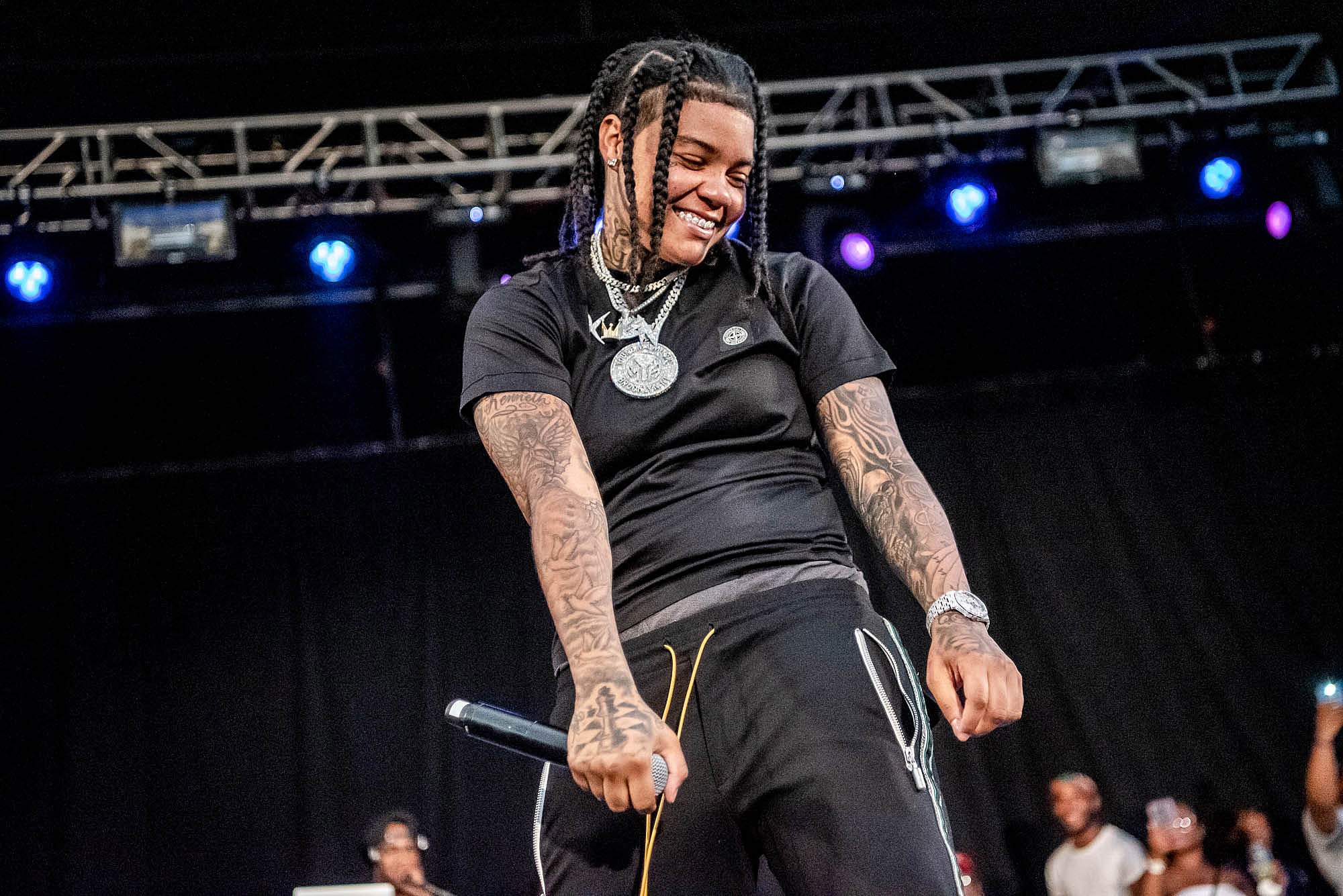Young M.A at SummerStage in Betsy Head Park