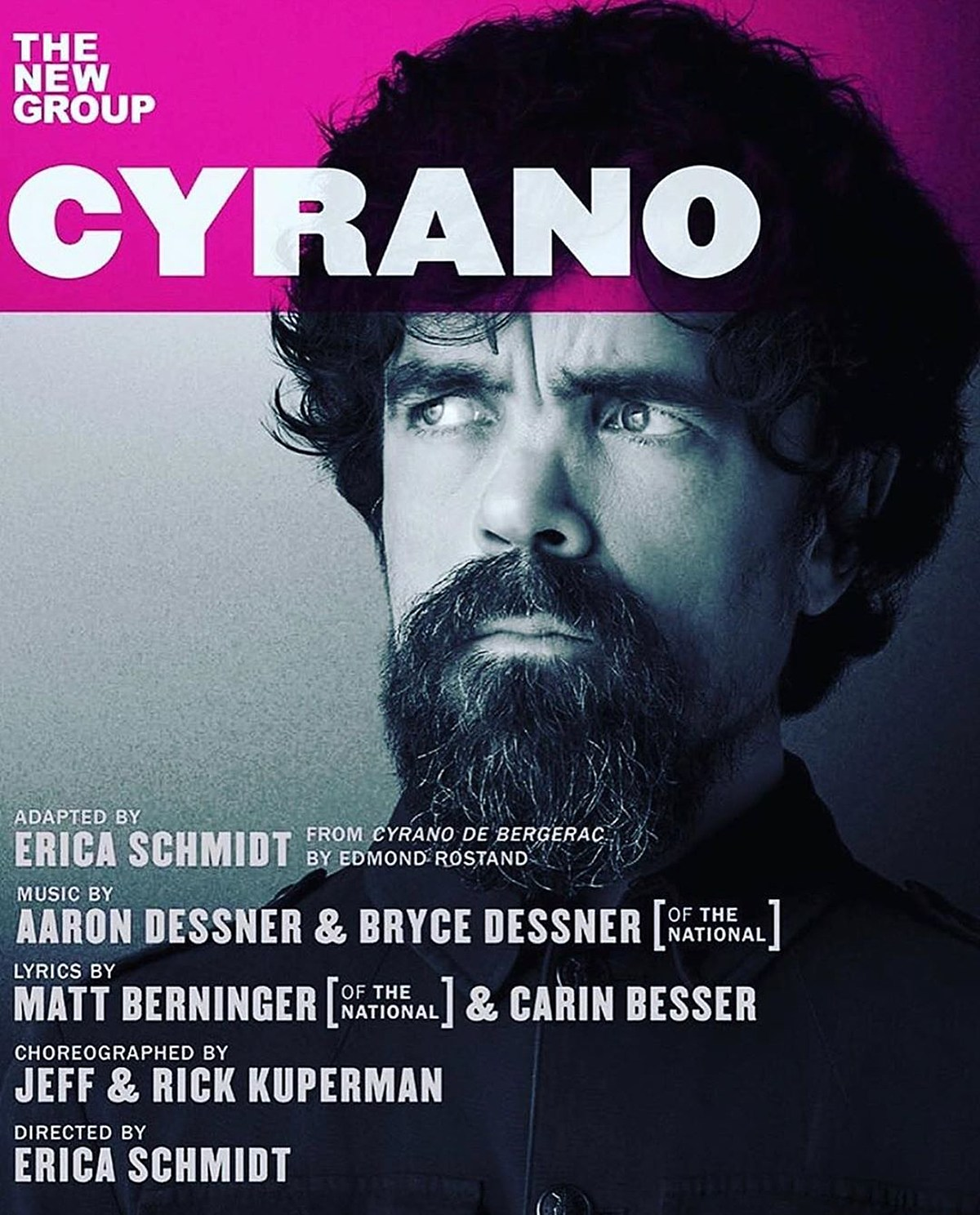 'Cyrano' with Peter Dinklage music by The National coming to off-Broadway this fall