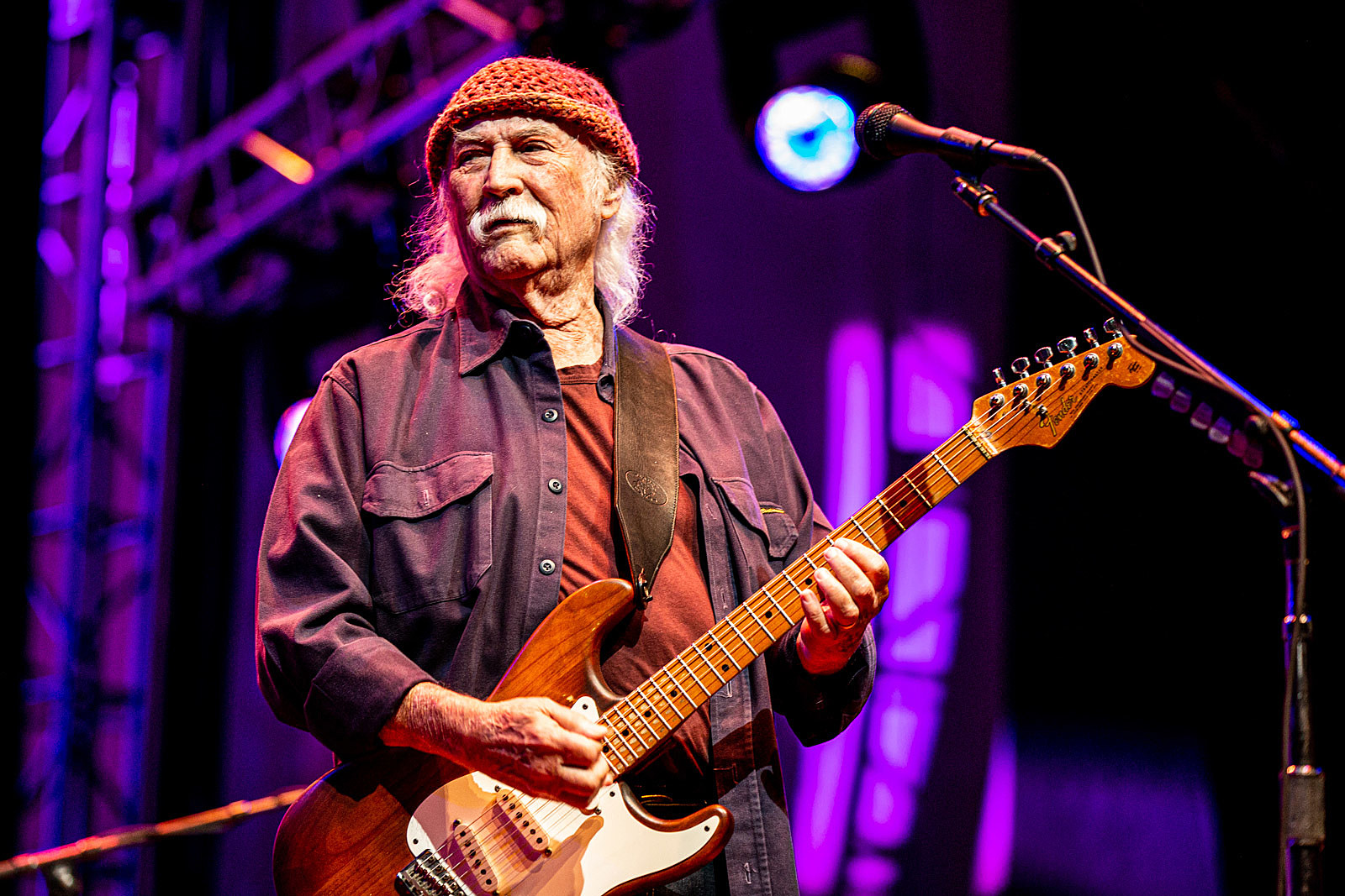 David Crosby and Friends at Lincoln Center Out of Doors