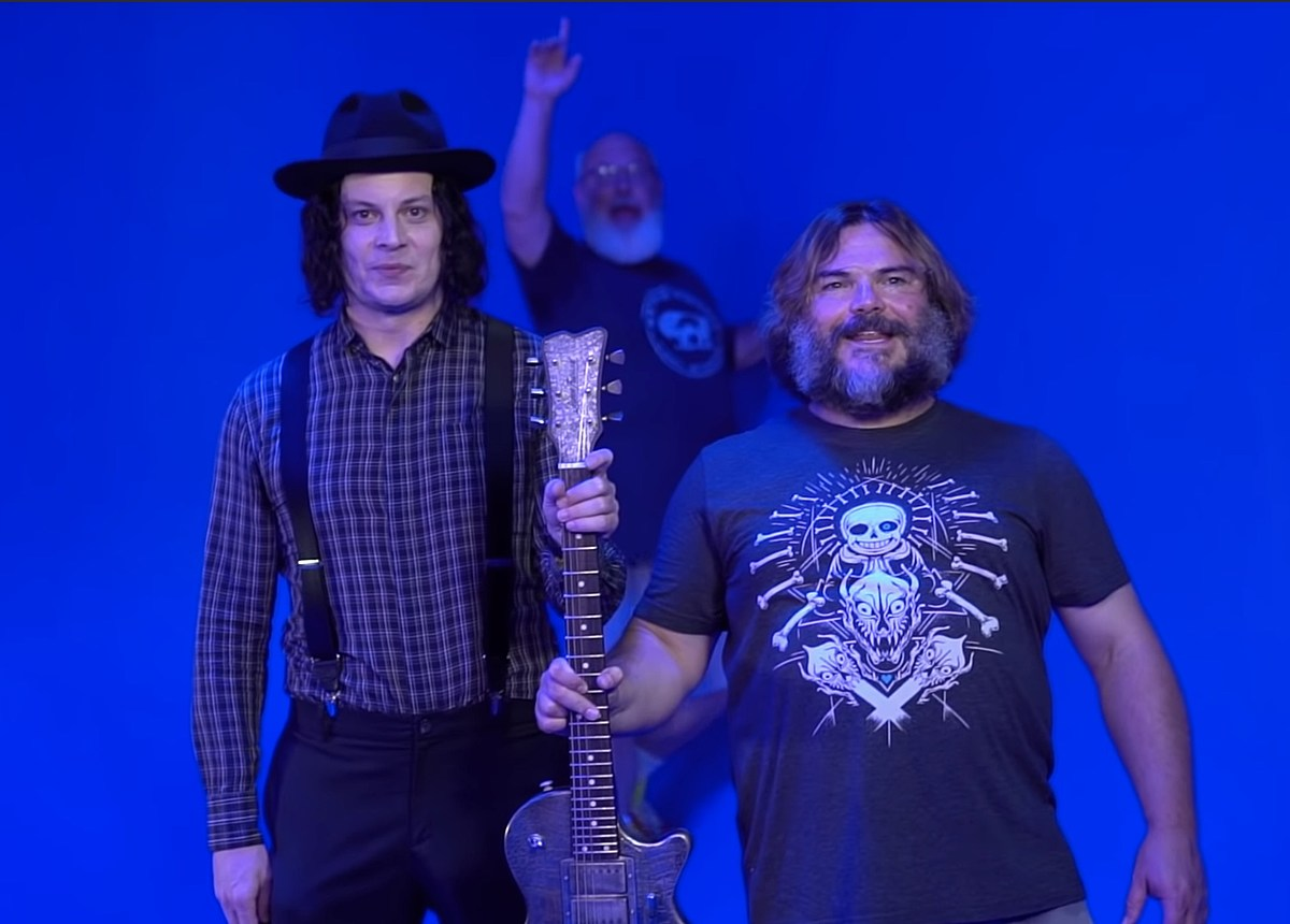Jack Black shares behind-the-scenes video on forthcoming Jack White collab
