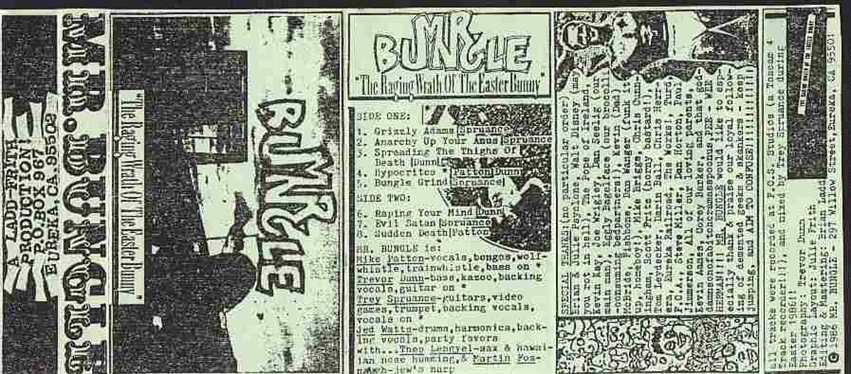 Mr. Bungle playing 1986 demo at first shows in nearly 20 years