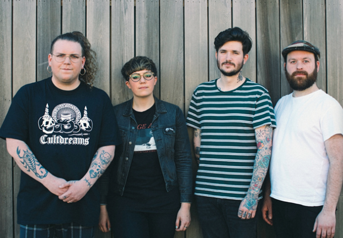 """Nervus prep new LP, playing US shows before The Fest (watch """"They Don't"""" video)"""