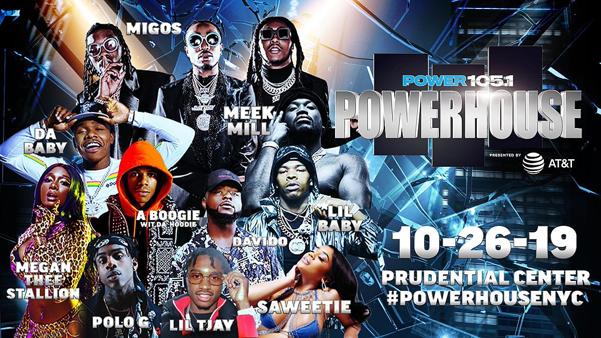 Migos, Meek Mill, Lil Baby more playing Power 105.1's 2019 Powerhouse