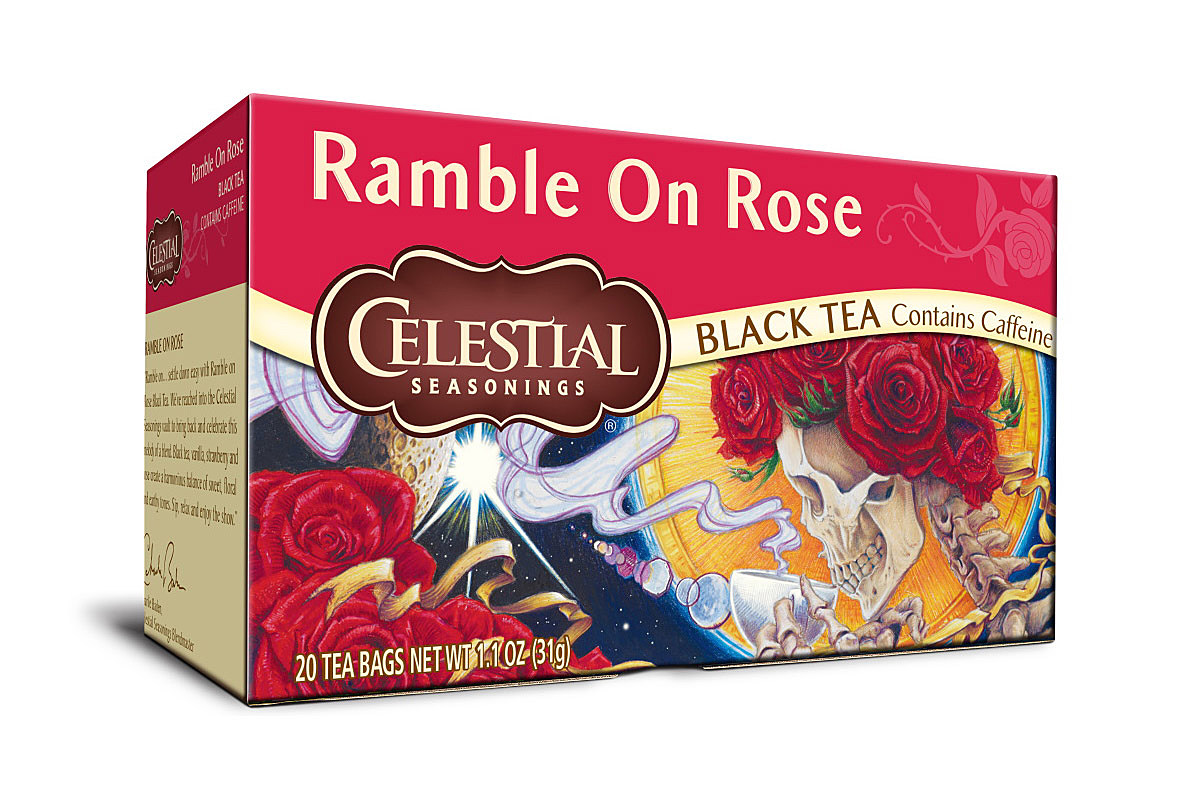 Grateful Dead tea is back from HeadCount.org; get a free box