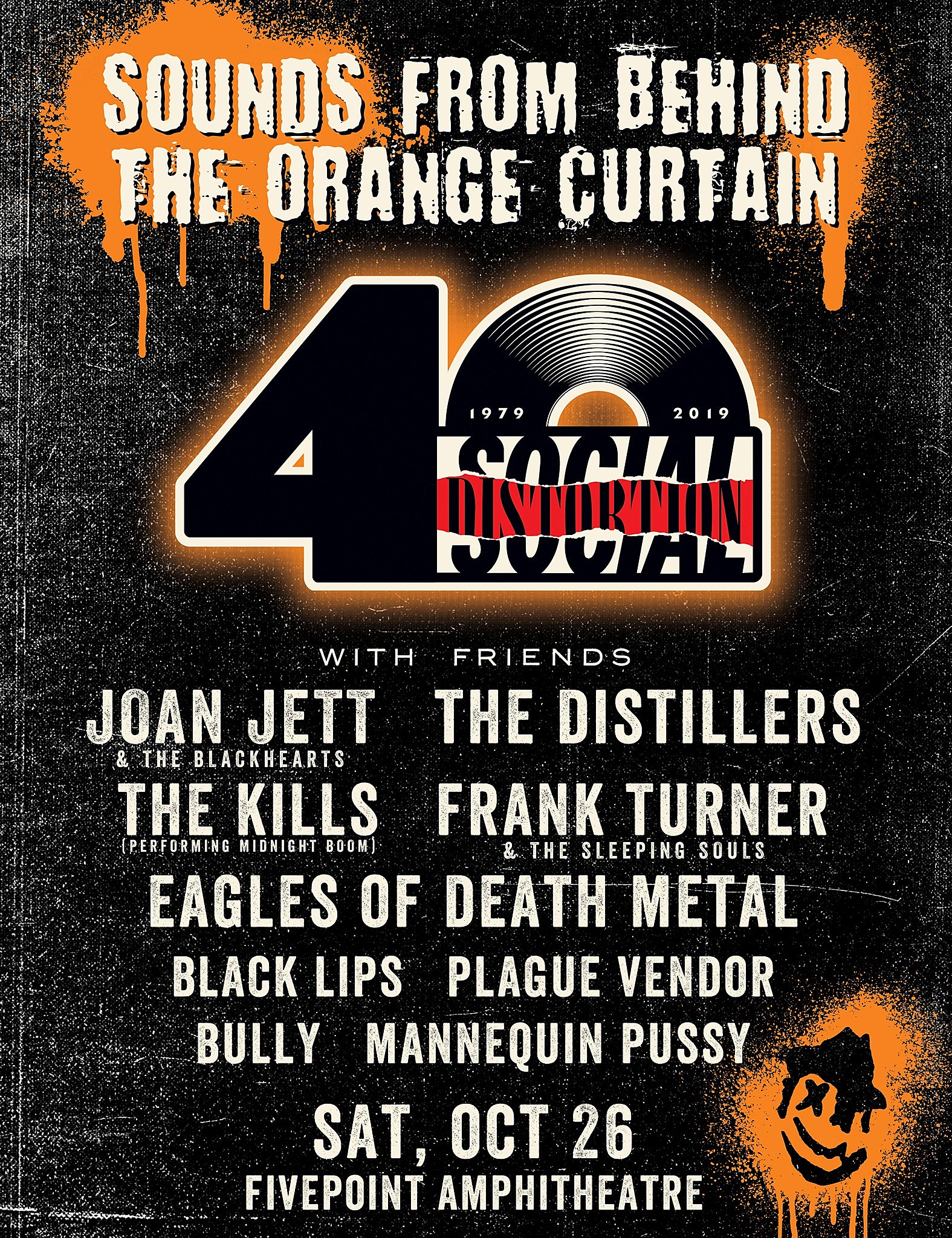 Social Distortion 40th Anniversary